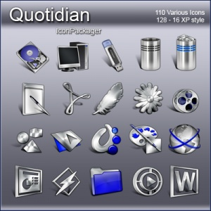 IconPackager Skins: Quotidian IP