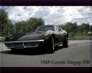 Corvette Stingray Pictures on Coolplayer Cars Wallpapers 1969 Corvette Stingray 350