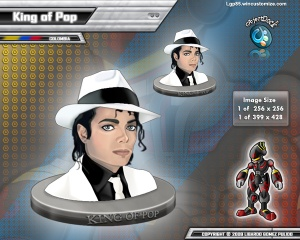 ObjectDock Skins: King of Pop