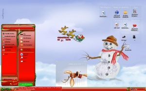 Windows Members: Mr. Snowman screenie