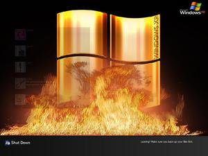 Windows XP (Flames) Logon by JL Pro