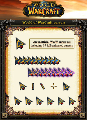 World of WarCraft Cursors by yingjunjiu