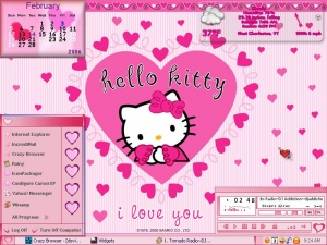Hello Kitty Valentine 2K6 by Chickie