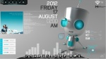 Chillin Bot Desktop v2.0 for Rainmeter by Ionstorm_01