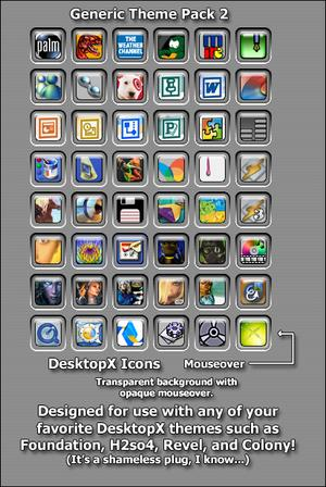 Anytheme DX Icons Pack 2 by chadamus
