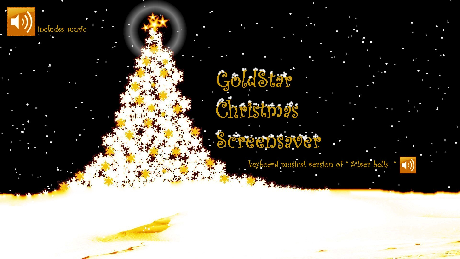 Christmas screensavers with music car pictures