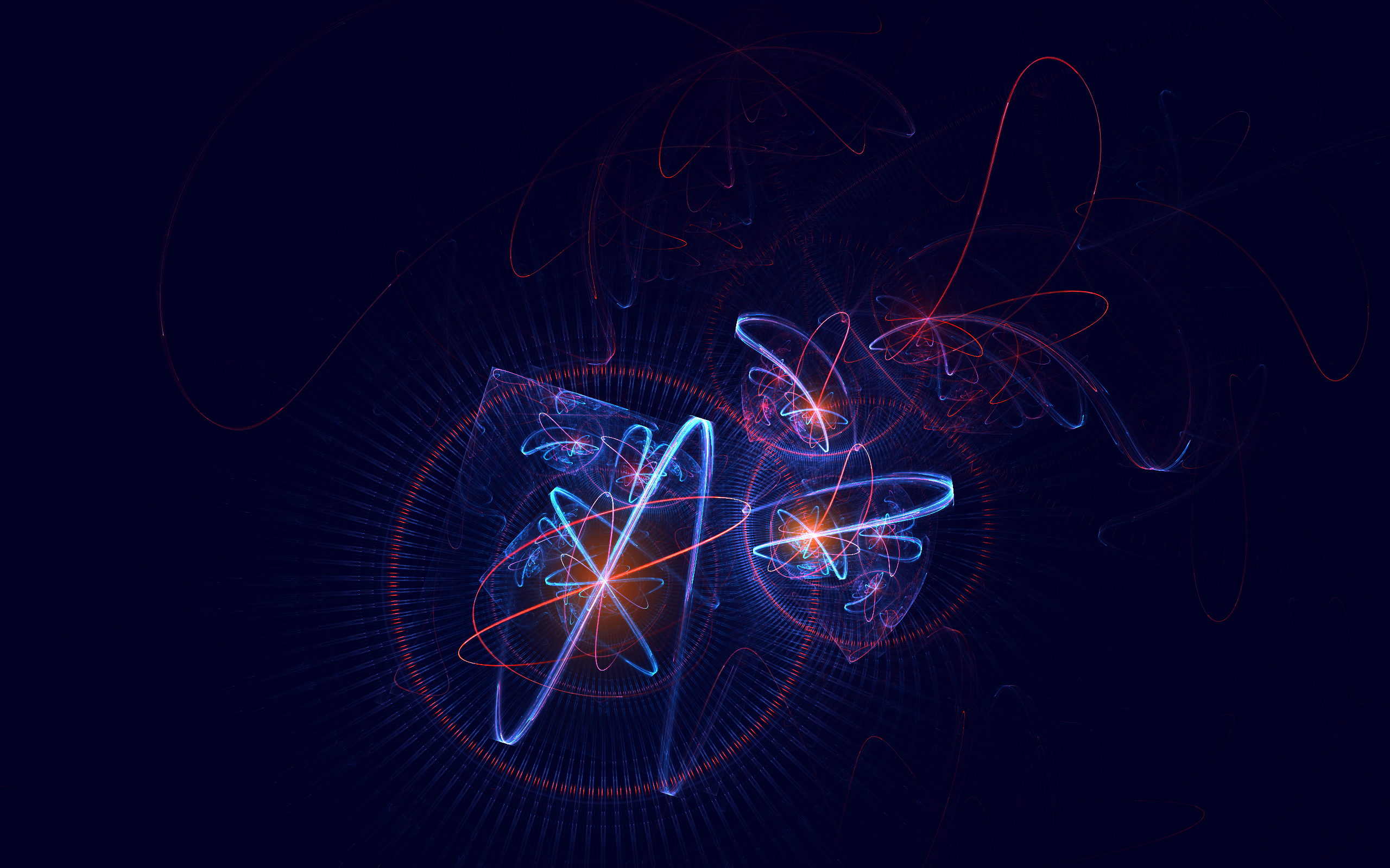 Atomic Hd WallpaperNuclear Atoms Wallpaper