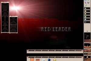 RedLeader_NS Vertical Startbar by VectorNut