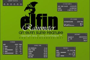 Elfin | Rainmeter by Nylons