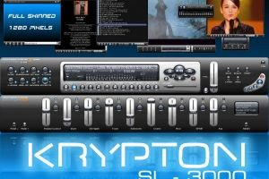 KRYPTON SL-3000 / (1280 Pixels) by mediaplay