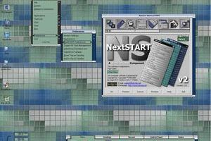 Afus with WorkShelf for NextSTART by VectorNut