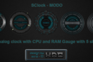 SClock-MODO by d4f_mac
