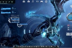 Targeting The Bone Dragon Rainmeter Desktop by Ionstorm_01