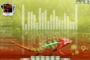 Chameleon Desktop for Rainmeter by Ionstorm_01