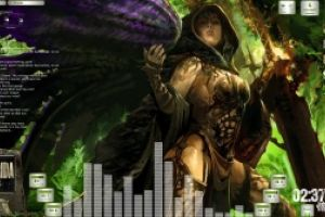 Avenging Angel Desktop for Rainmeter by Ionstorm_01