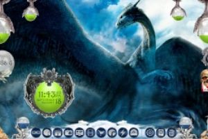 Dragons Lair Desktop for Rainmeter by Ionstorm_01