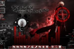 Devil May Cry Animated Rainmeter Desktop by Ionstorm_01